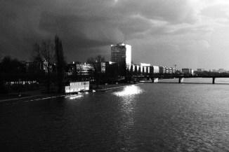 Blick Richtung Westhafen