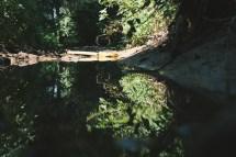 ein kleiner Bachsee