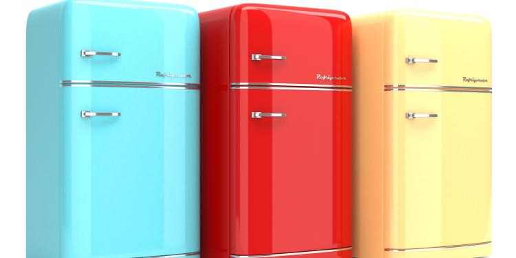 la tendance du frigo retro objet deco
