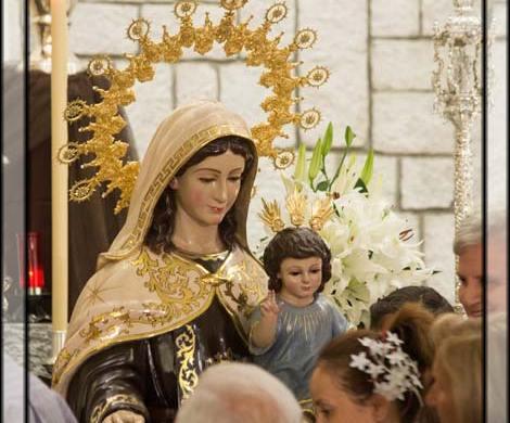 Besamano de Ntra Señora del Carmen (Torre del Mar)