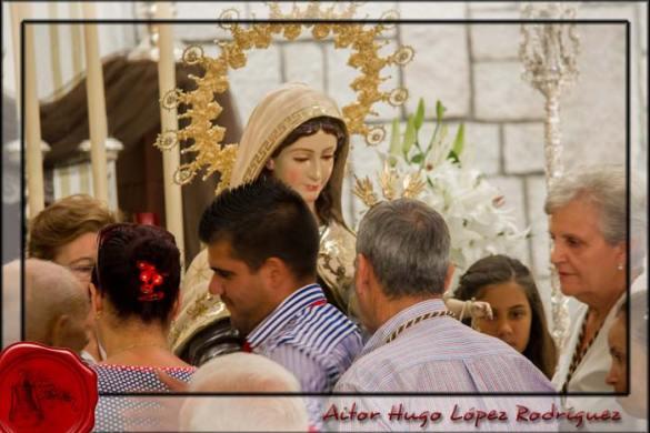 Besamano Virgen Del Carmen 2014