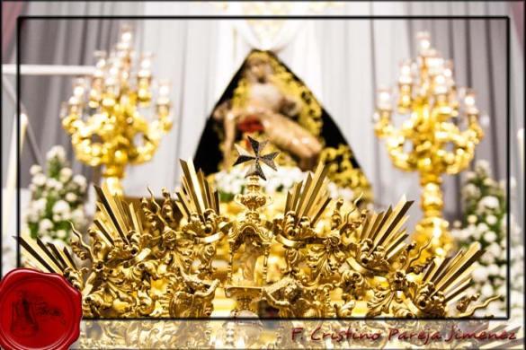 Presentación enseres Coronación Angustias
