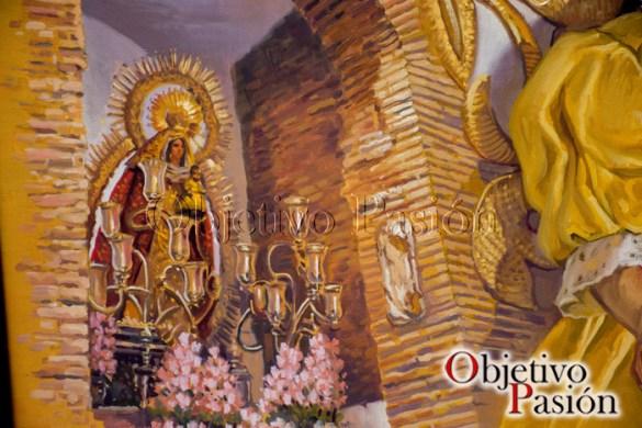 Cartel XXV Aniversario Hdad Virgen de la Cabeza