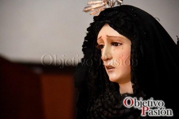 Sábado Santo 2017: Pésame a Ntra Sra de la Soledad