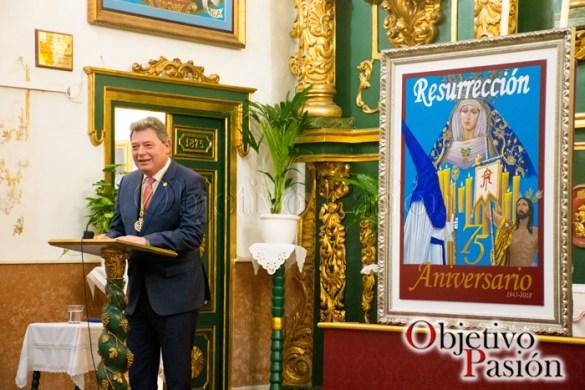 Presentación cartel 75 Aniversario Resurrección