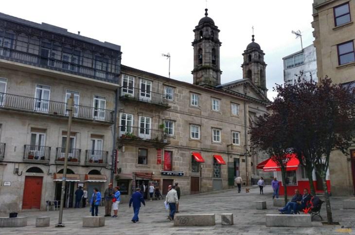 Praza da Pedra. Vigo - Objetivo Viajar