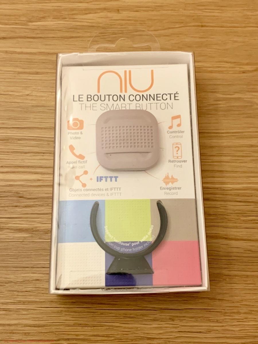 Bouton connecté Niu - La boite