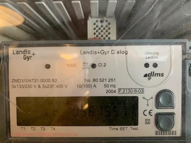 Compteur d'électricité Landis+ Gyr Dialog