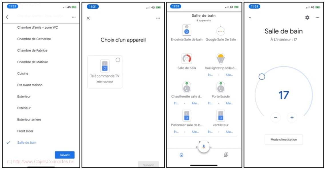 SwitchBot Meter Hub - Installation dans Google Home 3