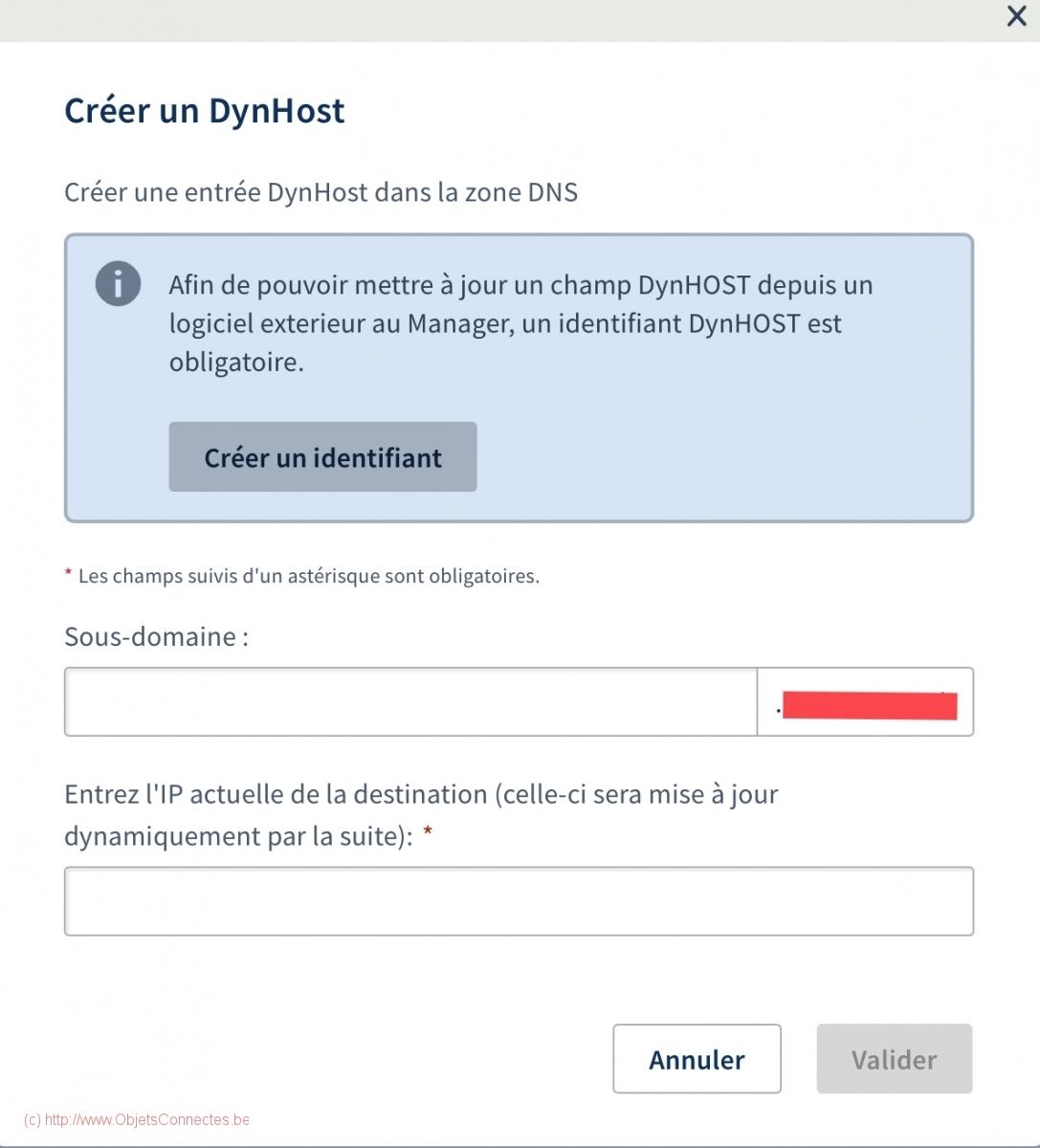 Jeedom avec URL et https - DynHost et IP