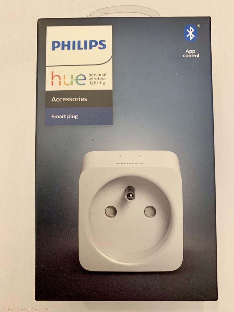 Prise connectée Philips Hue - L'emballage