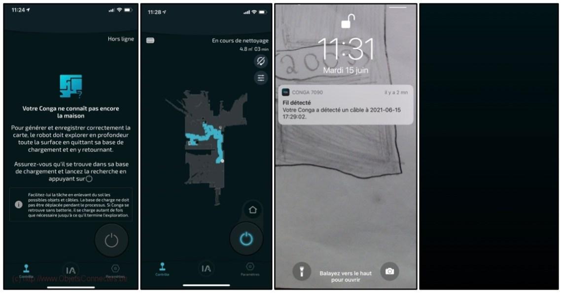 Aspirateur-Robot-Conga-Cecotec-Cartographie