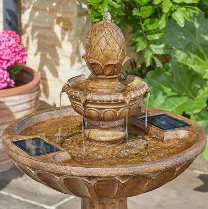 fontaine solaire bain d oiseaux queensbury