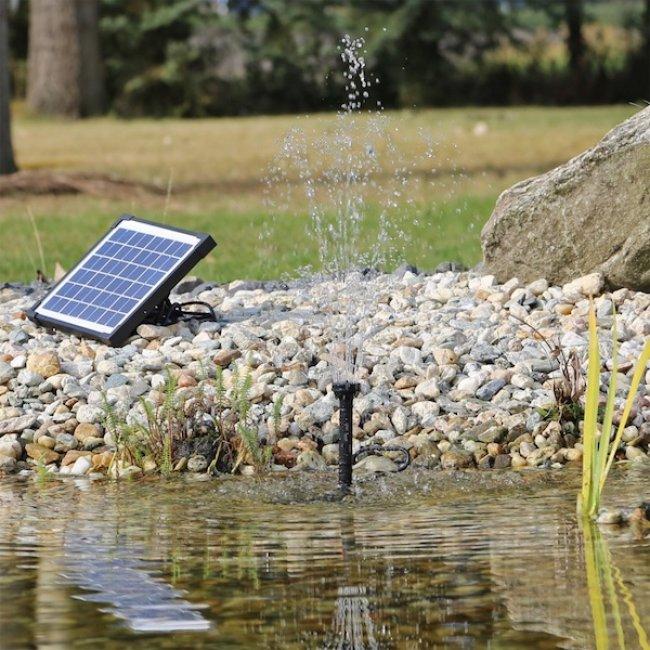 pompe fontaine solaire jet d eau 5w 470l h ps2