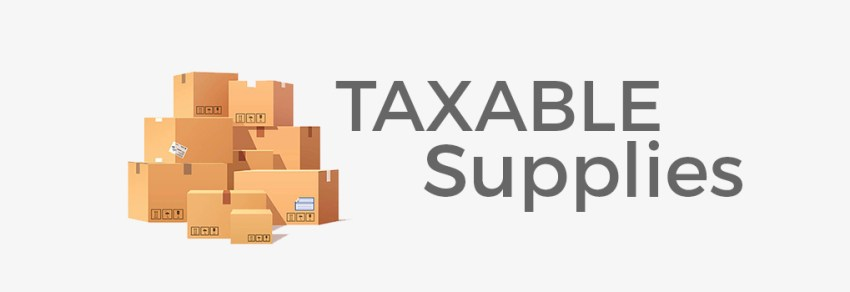 taxable supplies UAE VAT