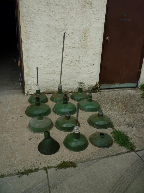 Group of Old Gas Station \/ Barn Porcelain Lights ...