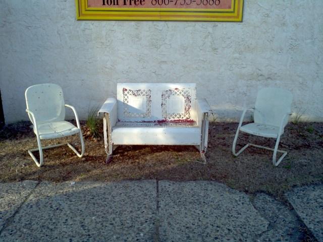 mid-century metal outdoor furniture « obnoxious antiques