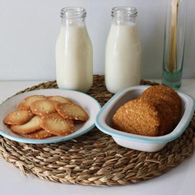 Bodegón tejas y galletas 1