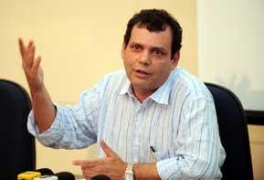 O presidente do Instituto Nacional de Estudos e Pesquisas Educacionais (Inep), Reynaldo Fernandes, faz balanço do Enem (Foto: Roosewelt Pinheiro/ABr)