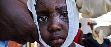 Haiti:212.000 mortos e crianças em situação de desespero