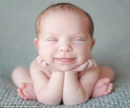 As mais incríveis fotos de bebês como você nunca viu antes