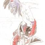 Maique - desenho heroi