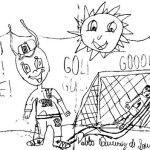 Pablo - desenho futebol obrasileirinho