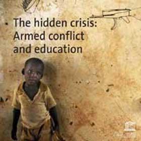 Guerras do mundo - crianças fora da escola