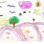 Chaiane - desenho Natureza