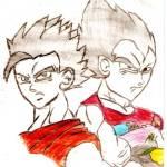 Leandro - desenho de herois