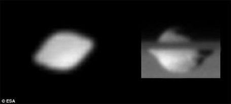 Ovnis - Luas de Saturno
