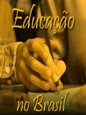 Ilustração política educacional no Brasil