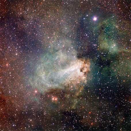 Telescópio com OmegaCAM de 260 megapixels