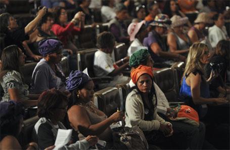 foto do debate direitos sexuais e reprodutivos das mulheres