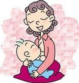 Ilustração importância do leite materno