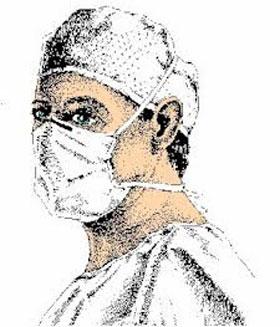 Ilustração médicos formados