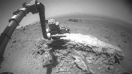 Foto das rochas nunca vistas antes em Marte, Robô Opportunity