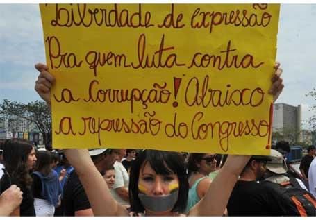 Foto 1 - 2ª Marcha contra a Corrupção e a Impunidade