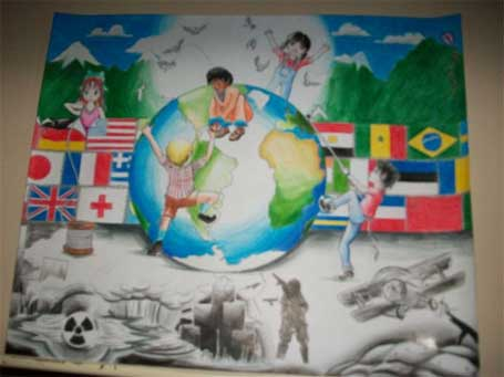 Foto 3 - Cartaz da Paz - Bradesco