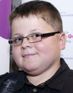 Foto de Harry Moseley a criança arrecadou R$ 1,4 milhão para caridade