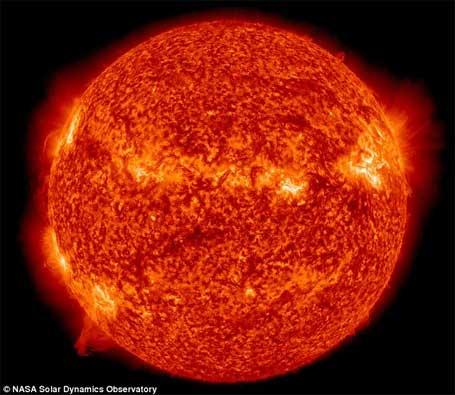 foto da Nasa Imagem do sol 1
