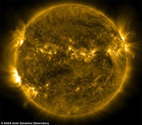 foto da Nasa Imagem do sol 2
