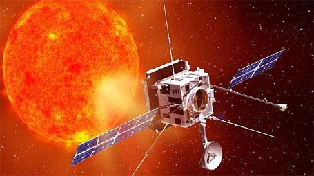 Imagem fantástica da Solar Orbiter