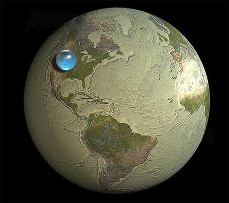 Bola terra e bola água