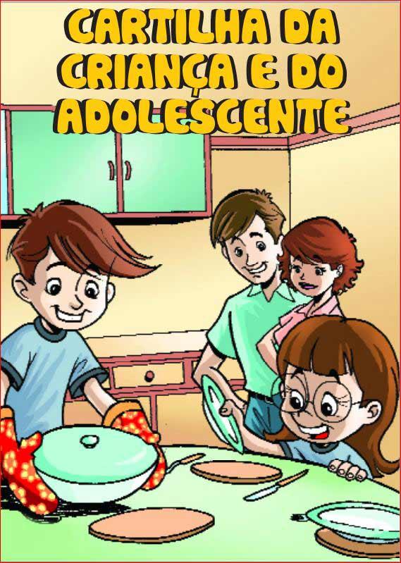 Preferência Cartilha ilustrada direitos da criança e do adolescente » O  ZC36