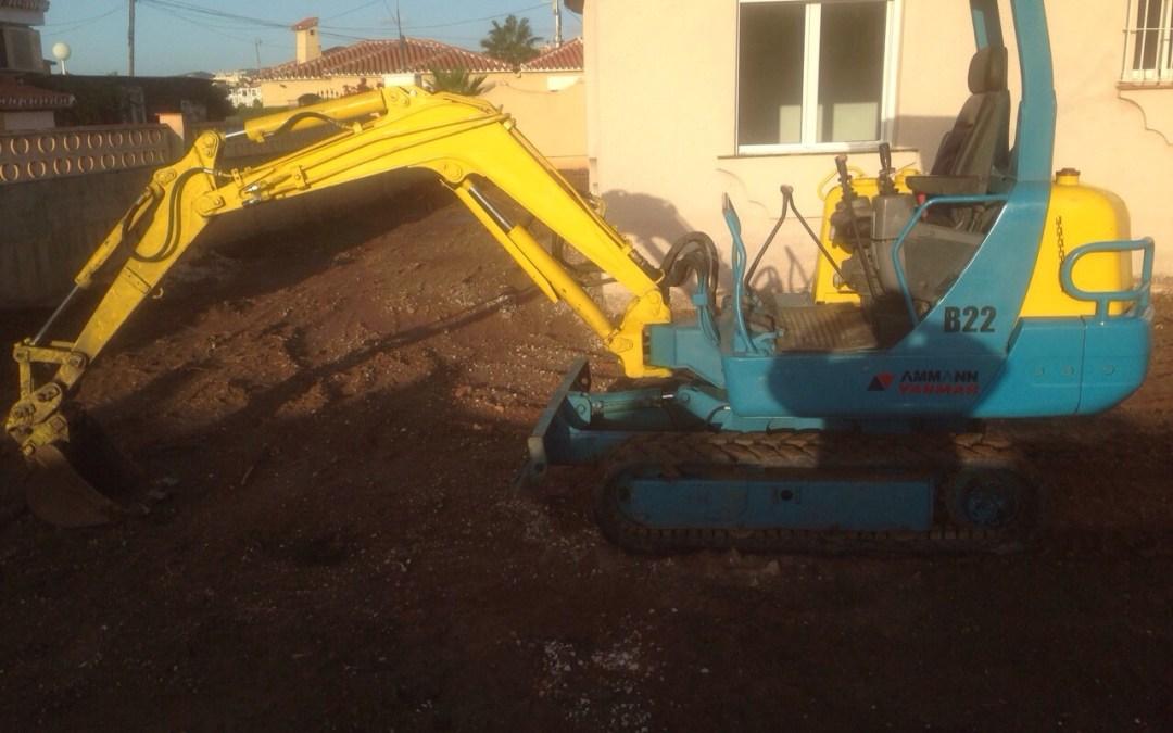 Arreglo de Jardines y Mini excavaciones