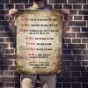 Poster Clube da Luta com regras