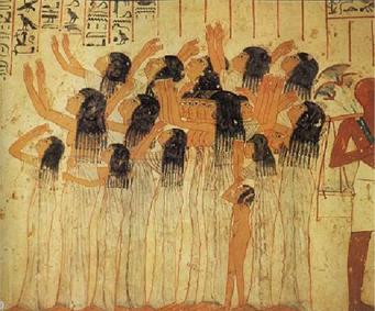 Egypte Antique : Aux origines des pleureuses
