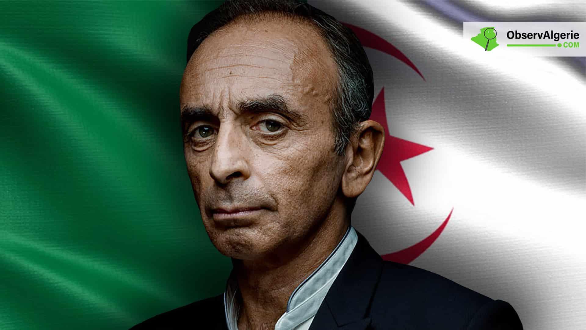 Le Polemiste Eric Zemmour Insulte Une Nouvelle Fois L Algerie
