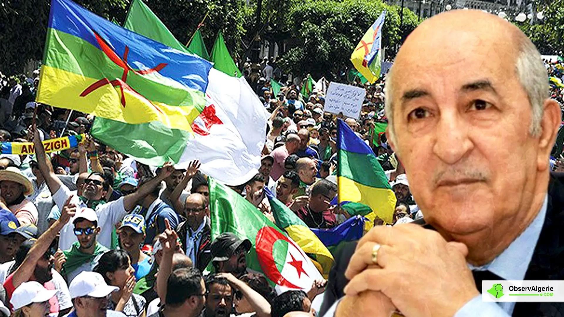 Algérie : Abdelmadjid Tebboune décrète le 22 février journée nationale